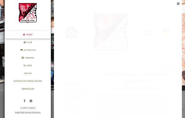 Vorschau von www.vespa-club-frankfurt.de, Vespa-Club Frankfurt e.V.