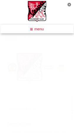 Vorschau der mobilen Webseite www.vespa-club-frankfurt.de, Vespa-Club Frankfurt e.V.