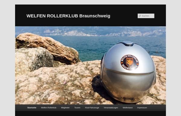 Vorschau von www.welfenrk.de, Welfen Rollerclub Braunschweig