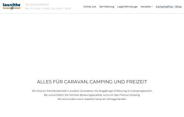 Vorschau von wohnwageninfo.de, Wohnwagenzentrale Vilsmeier
