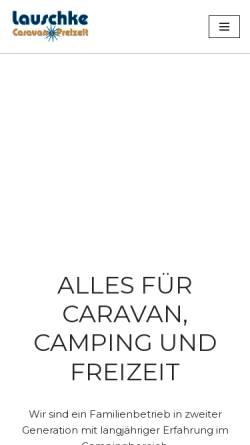 Vorschau der mobilen Webseite wohnwageninfo.de, Wohnwagenzentrale Vilsmeier