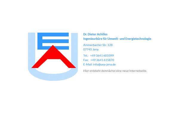 Vorschau von www.uea-jena.de, Dr. Dieter Achilles