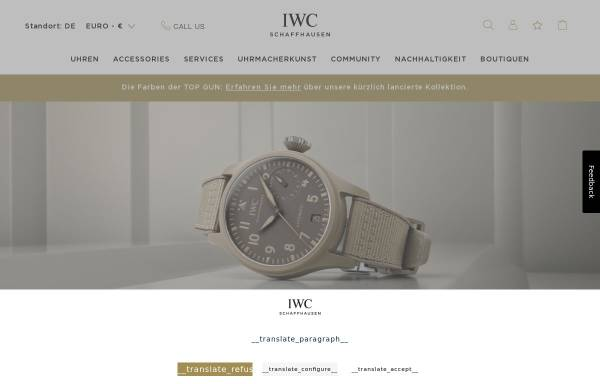Vorschau von www.iwc.com, The International Women's Club of Frankfurt e.V.