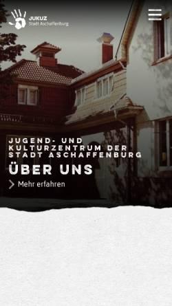 Vorschau der mobilen Webseite www.jukuz.de, Jukuz Aschaffenburg