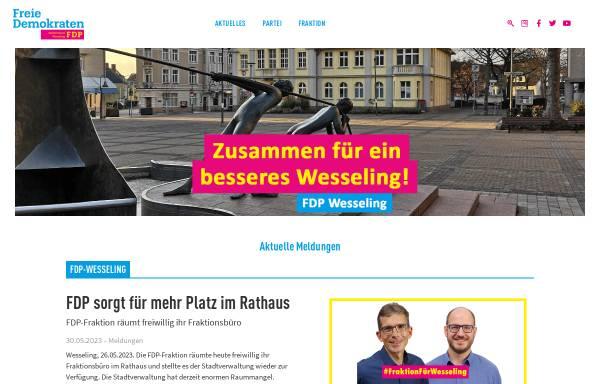 Vorschau von fdp-wesseling.de, FDP Wesseling