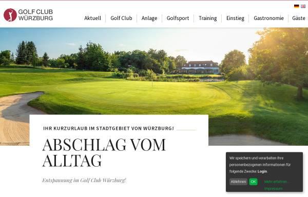 Vorschau von www.golfclub-wuerzburg.de, Golf Club Würzburg e.V.