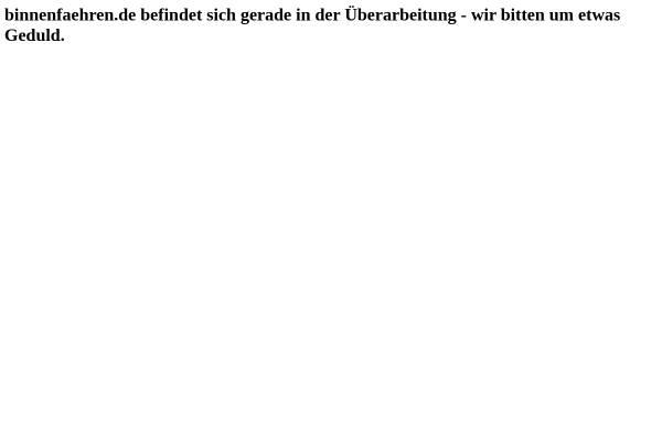 Vorschau von www.binnenfaehren.de, Binnenfähren