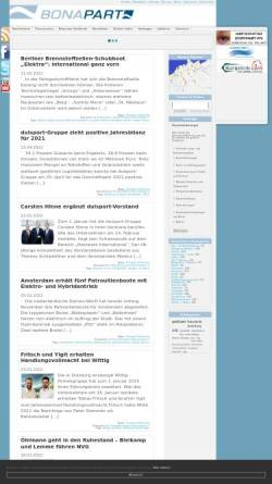 Vorschau der mobilen Webseite www.bonapart.de, Bonapart.de