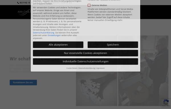 Vorschau von axa-cable.de, AXA-Cable