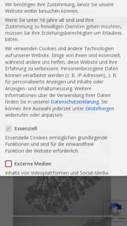 Vorschau der mobilen Webseite axa-cable.de, AXA-Cable