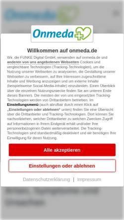 Vorschau der mobilen Webseite www.onmeda.de, Onmeda: Multiple Persönlichkeitsstörung