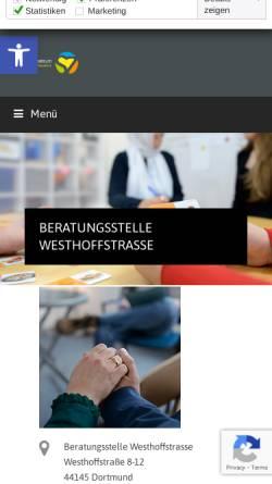 Vorschau der mobilen Webseite www.drobs-dortmund.de, Drogenberatungsstelle
