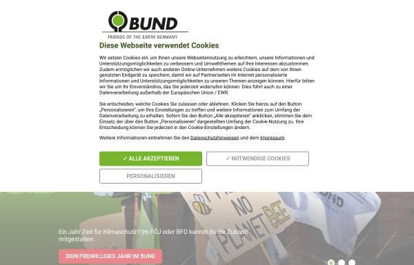 Vorschau von www.bund-bremen.net, BUND für Umwelt und Naturschutz - Landesverband Bremen e.V.