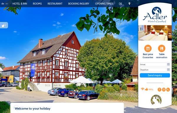 Vorschau von www.adler-lindau.de, Gasthof Adler