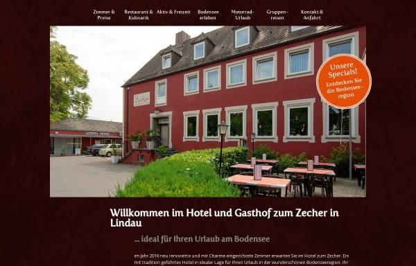 Vorschau von www.gasthof-zecher.de, Gasthof Zum Zecher