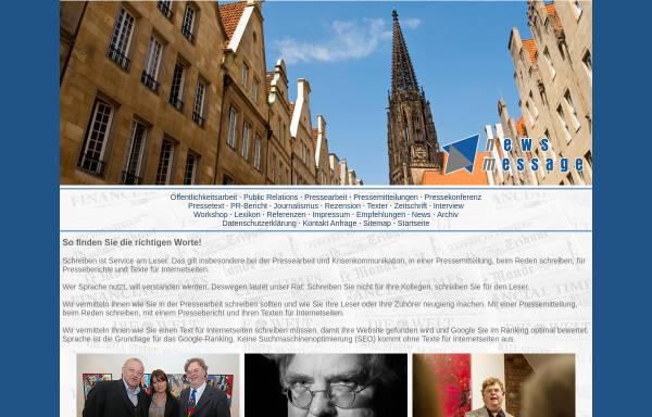 Vorschau von www.pressearbeit-bockow.de, News Message - Dr. Jörg Bockow