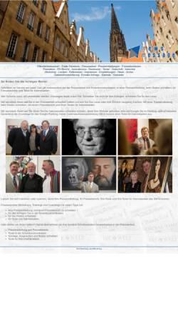 Vorschau der mobilen Webseite www.pressearbeit-bockow.de, News Message - Dr. Jörg Bockow