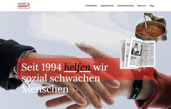 Vorschau von www.verein-wohltat.de, Wohltat e:V. Rostock