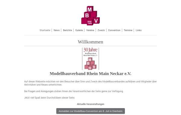 Vorschau von www.modellbauverband.de, Modellbauverband Rhein-Main-Neckar