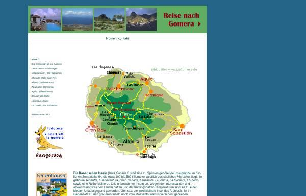 Vorschau von www.zillich.com, Gomera - ein Reisebericht
