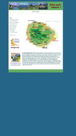 Vorschau der mobilen Webseite www.zillich.com, Gomera - ein Reisebericht