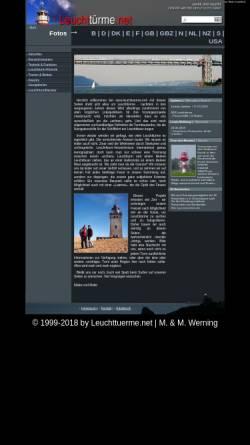 Vorschau der mobilen Webseite www.leuchttuerme.net, Leuchttürme in aller Welt