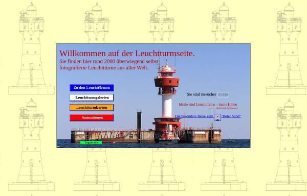 Vorschau von www.leuchtturm-web.de, Leuchtturmseite