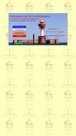Vorschau der mobilen Webseite www.leuchtturm-web.de, Leuchtturmseite