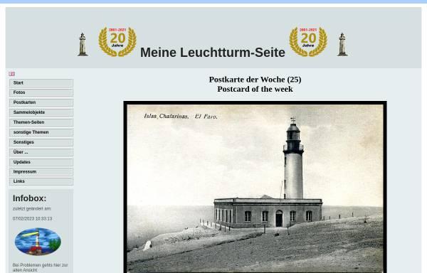 Vorschau von www.leuchtturm-welt.net, Meine Leuchtturm-Seite