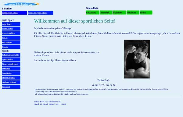 Vorschau von www.fitinberlin.de, Fit in Berlin