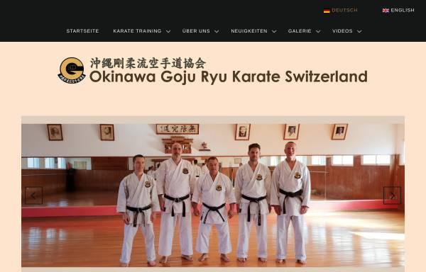 Vorschau von www.goju-ryu.ch, Goju-Ryu Karate Frauenfeld