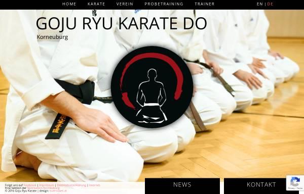 Vorschau von www.karate-korneuburg.at, Jundokan Austria - Sportunion Korneuburg