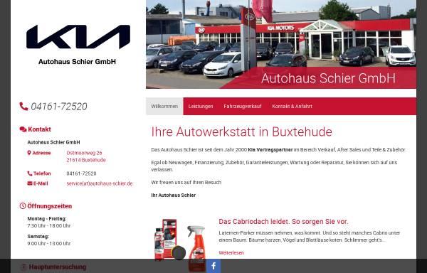 Vorschau von autohaus-schier.de, Autohaus Schier GmbH