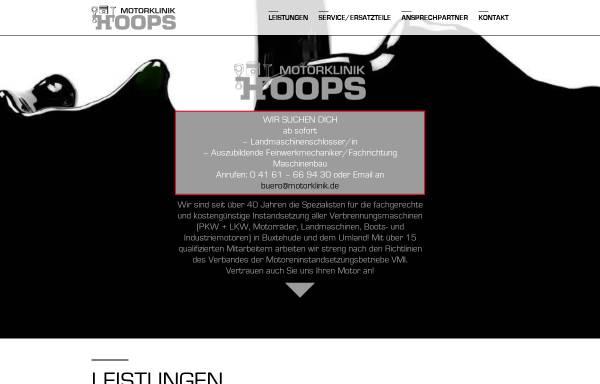 Vorschau von www.motorklinik.de, Motorklinik W. Hoops GmbH