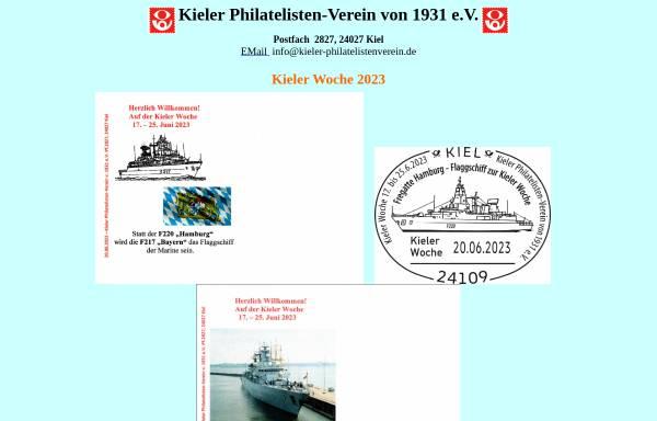 Vorschau von kieler-philatelistenverein.de, Kieler Philatelisten-Verein von 1931 e. V.