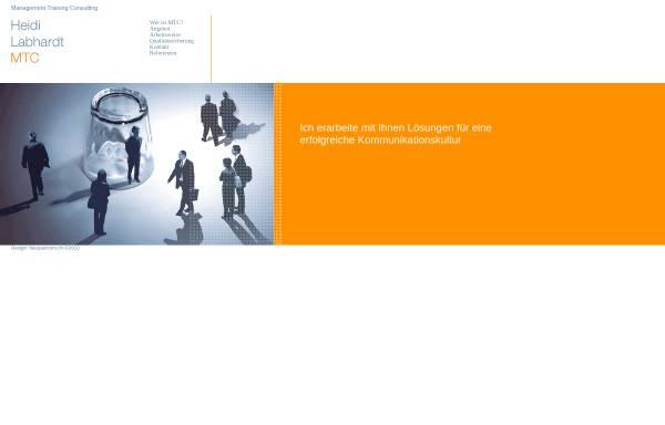 Vorschau von www.mtc-lab.ch, MTC Management Training Consulting - Heidi Labhardt