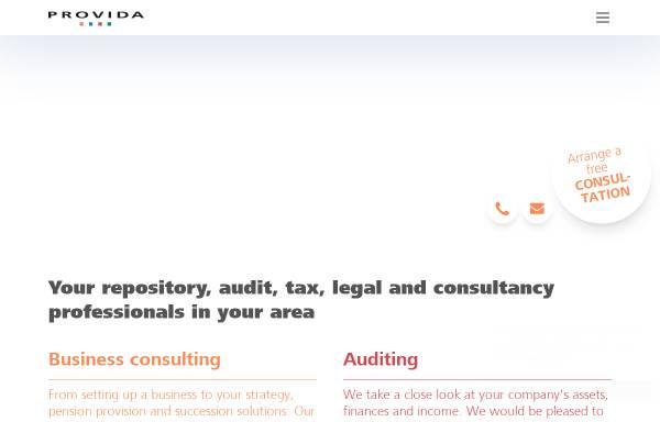 Vorschau von www.provida.ch, Provida Consulting AG