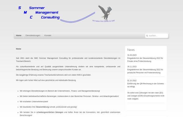 Vorschau von www.sommaco.ch, SMC Sommer Management Consulting