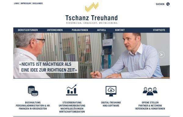 Vorschau von www.tschanz-treuhand.ch, Tschanz Treuhand AG