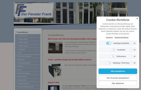 Vorschau von www.der-fenster-frank.de, Guido Frank Fenstertechnik -