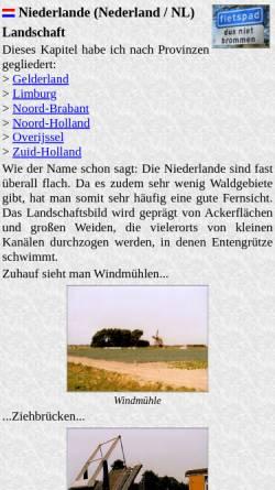 Vorschau der mobilen Webseite www.radwahn.de, Radwahn [Thilo Mäck]