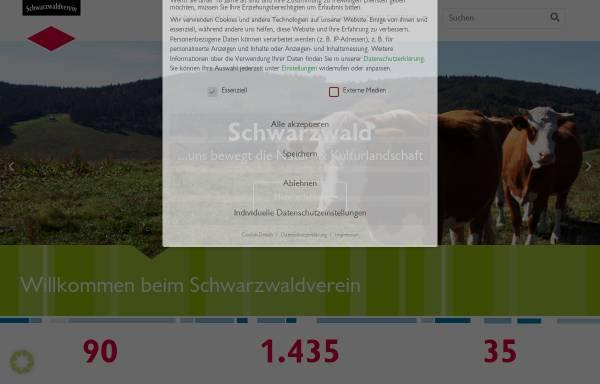 Vorschau von schwarzwaldverein.de, Schwarzwaldverein