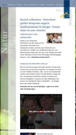 Vorschau der mobilen Webseite www.weingut-kaiserstuhl-nickel.de, Weinhaus Kaiserstuhl