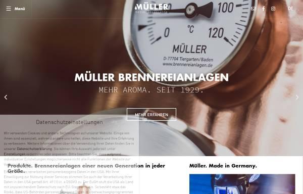 Vorschau von www.brennereianlagen.de, Müller GmbH - Brennereianlagen