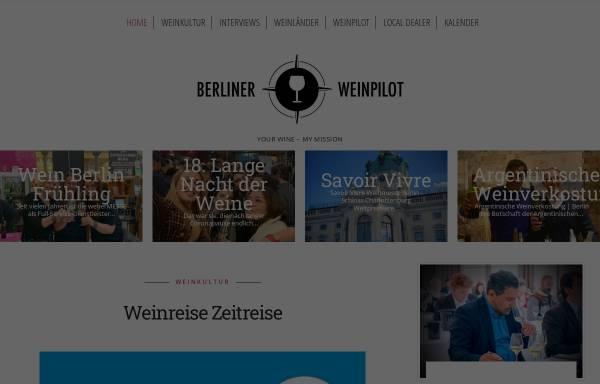 Vorschau von www.weinpilot.com, Weinhandel O. Niedermeyer & M. van Riesen GbR