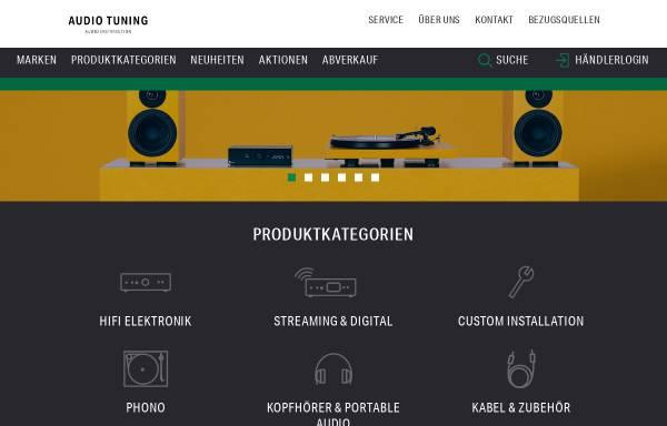 Vorschau von www.audiotuning.com, Audio Tuning Vertriebs GmbH