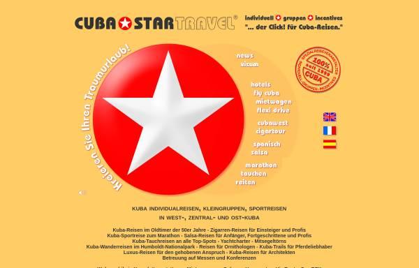 Vorschau von www.cubastartravel.com, Cuba Startravel