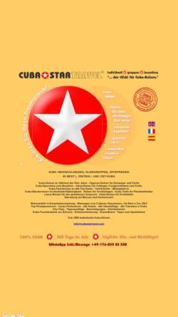 Vorschau der mobilen Webseite www.cubastartravel.com, Cuba Startravel