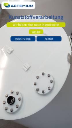 Vorschau der mobilen Webseite www.kunststoffverarbeitung-buettner.de, Kunststoffverarbeitung Büttner GbR