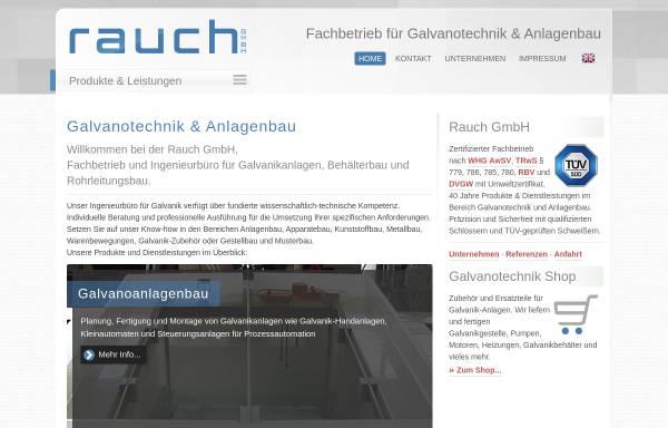 Vorschau von www.rauch-ohg.com, Rauch OHG